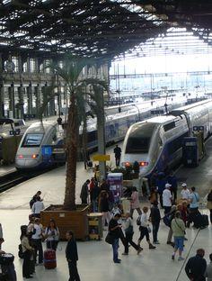 TGV, Gare de Lyon, Paris