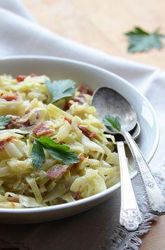 Creamed Cabbage Recipe - so easy and so delicious!