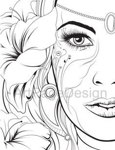 coloring pages - Coloring pages Сoloring books for adults Abstraction PDF, JPG Coloring Pages For Grown Ups, Fairy Coloring Pages, Adult Coloring Book Pages, Cartoon Coloring Pages, Disney Coloring Pages, Coloring Pages To Print, Printable Coloring Pages, Coloring Books, Abstract Coloring Pages
