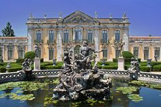 Palácio de Queluz - Sintra, Portugal
