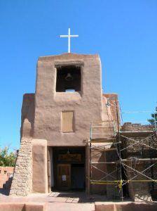 Oldest church in the US, San Miguel Church, Santa Fe, NM ca. 1610
