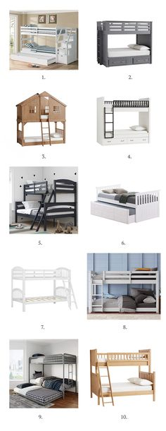 10 Bunk Bed Options