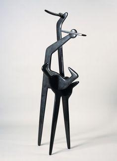 Isamu Noguchi. Bronze. 1947-1972 ●彡