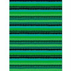 Marimekko Räsymatto Green/Turquoise Fabric - $53.00