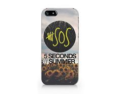 M2535SOS 5 seconds of summer and sunflower for iPhone by Emerishop