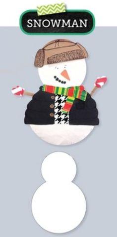 "Snowman (blank) 10""..."
