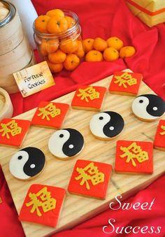 Chinese Inspired Kung Fu Panda themed birthday party Full of Really Cute Ideas via Kara's Party Ideas Kara's Party Ideas   Cake, decor, cupc...