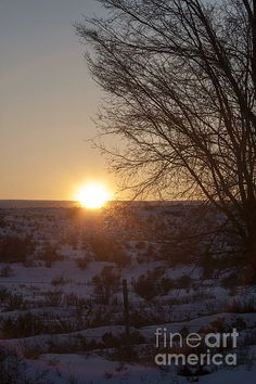 A perfect sunset on the Western Slope of Colorado in Delta, Colorado.