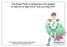 Can your children design a new gadget for a superhero? Ask them to draw or write about their design on this template. Can You Help, Craft Club, Collaborative Art, New Gadgets, Arts And Crafts, Teaching, Activities, Writing, Superhero