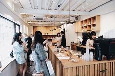Fridays. Thanks again for the exciting week at Kurasu Kyoto. Come down and enjoy the last few weeks of coffee from @finetimecoffee @saredocoffee . Coffee available online to ship worldwide. 今週もKurasu Kyotoにはたくさんのお客様にお越しいただきましたありがとうございます現在カフェで提供させていただいている東京のFinetime Coffee さんと福岡のSaredo Coffeeさんは残念ながら最後の数週間となりますまだすべてのラインアップをお飲みいただいていない方はぜひKurasu Kyotoまでお越しくださいオンラインショップでも豆はご購入いただけます Link in bio #kurasucoffee #kurasukyoto #kurasu Coffee Shops, My Coffee, Cafe Design, Store Design, Coffee Restaurants, Coffee Culture, Small Cafe, Shop Around, Cafe Interior