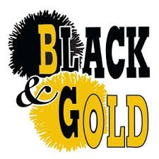 Black and gold high school homecoming decarations - Google Search
