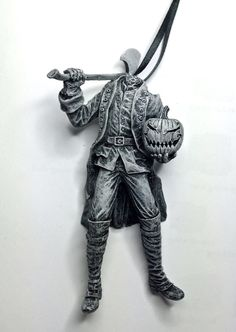 Hey, I found this really awesome Etsy listing at https://www.etsy.com/listing/229312745/headless-horseman-ornament