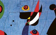 Joan Miró - Woman and bird, 1947 Joan Miro Paintings, Aurelie Bidermann, Paris Art, Grand Palais, Light Art, Constellations, Lovers Art, Art Boards, Les Oeuvres