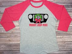 Merry Jeepin Christmas Merry Jeepmas Jeep Wrangler Jeep Christmas Wrangler Jeeper Jeepher Jeepmas Christmas Tshirt Christmas Jeep Rubicon