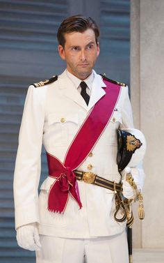 How we love a man in uniform?... No, just David Tennant #MAAN