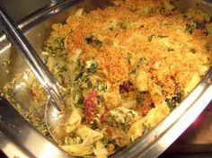 Chicken Florentine Artichoke Bake Recipe.