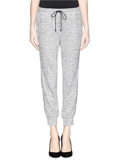 Textile Elizabeth and James sweatpants - no better way to dip your toe into the athletic trend, we're wearing these EVERYWHERE