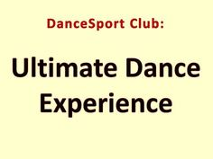 DanceSport Club - Ultimate Dance Experience in Houston, TX Group Dance, Dance Class, Dance Lessons, Latin Dance, Ballroom Dance, Houston Tx, Club, Youtube, Ballroom Dancing