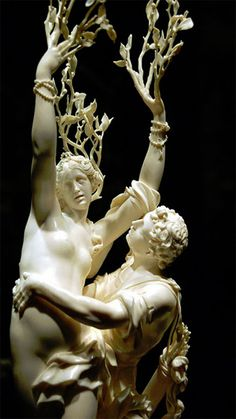 Eternal...'Apollo and Daphne' by Gian Lorenzo Bernini, 1622-25, Borghese Gallery, Italy.