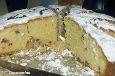 Xmas Food, Christmas Sweets, Christmas Time, Vasilopita Cake, Greek Cake, Cooking Time, Cooking Recipes, Greek Sweets, New Year's Cake
