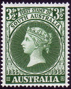 Australia 1955 SG 288 First South Australian Postage Stamps Fine Mint SG 288 Scott 285 Condition Fine MNH Only one post charge applied on multipule Rare Stamps, Vintage Stamps, Postage Stamp Design, Australian Vintage, Painted Gourds, Art Deco Furniture, Mail Art, Stamp Collecting, Abstract Art