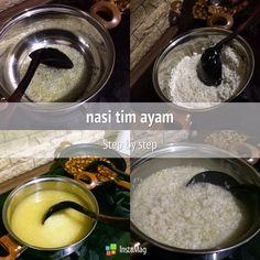 cara masak nasi tim ayam