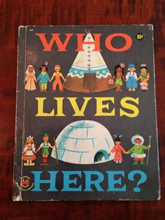 Who Lives Here by Judith Varga Vintage by TheGOOSEandTheHOUND, $5.00