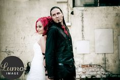 #wedding #bride #groom #wedding portraits #rock wedding #urban wedding portraits image by Petteri Löppönen
