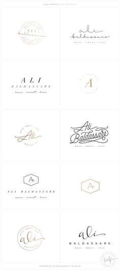 Brand Launch: Ali Baldassare by Salted Ink - Fitness Brand Design - www.saltedink.com - Brand Stylist