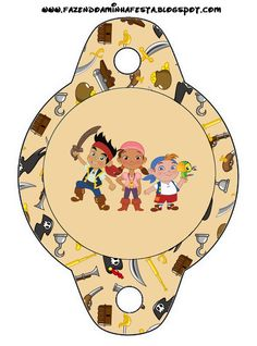 Jake and the Never Land Pirates: Party Free Printables.