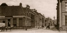 Almelo, Grootestraat oude eind rond 1900