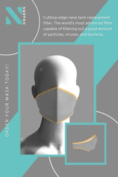 Basic grey face mask with yellow trims for the ones who prefer the classics - made with revolutionary antibacterial recycled plastic fabric. Each face mask saves almost 2 plastic bottles from going into our beloved ocean! #Nueton #facemasks #facecoverings #facemaskuk #adultfacemask Mens Face Mask, Basic Grey, Male Face, Plastic Bottles, Revolutionaries, Ocean, Yellow, Fabric, Pet Plastic Bottles