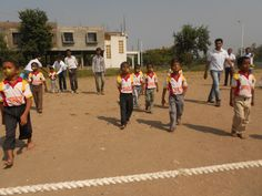 A breathtaking moments during #CSR sport activity. Students participated in sports with great enthusiasm and confidence.