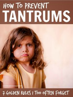 Sometimes it is the simple parenting basics .. that it's so easy to forget ... that push our kids into tantrums. | Tips to prevent toddler tantrums
