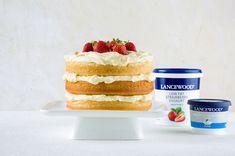 LANCEWOOD® STRAWBERRY VANILLA LAYER CAKE WITH CREAM CHEESE ICING