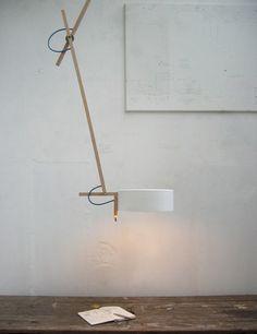 scantling lamps by mathias hahn