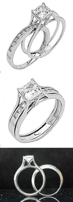 Ring Set, Ring Verlobung, Solitaire Ring, White Day, White Gold, Wedding Ceremony, Wedding Rings, Post Wedding, Worlds Of Fun