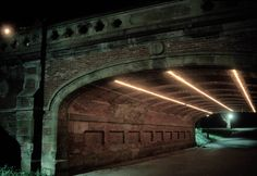 Alex Webb USA. New York City. 1992. Tunnel under a roadway in Central Park.