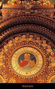 horloge de la cathédrale de Beauvais, Picardie