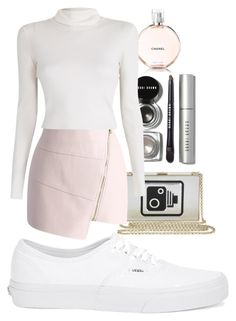 """""""Untitled #52"""" by juliettepep ❤ liked on Polyvore featuring Anya Hindmarch, Chicwish, Bobbi Brown Cosmetics, A.L.C. and Vans"""