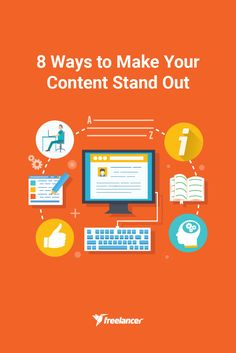 8 Ways to Make Your Content Stand Out #contentmarketing #business #startups #businesstips #marketing