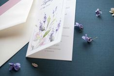 lavender, wedding invitations, zaproszenia, lawenda, miodunka papeteria, akwarelowe zaproszenia Wedding Stationery, Wedding Invitations, Wedding Invitation