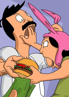 Bob and Louise Belcher.
