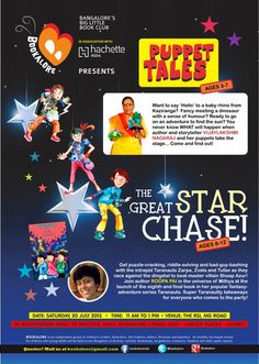 Hit Like if you and your Tara-nut friends will join us for the launch of The Great Star Chase at Bangalore tomorrow!