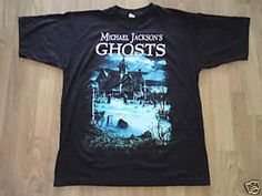 7c713c7640d2 Michael Jackson Ghosts T Shirt 1997 History Tour