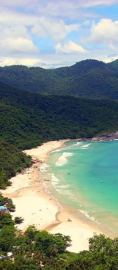 cannot wait for paradise: Ilha Grande - Rio de Janeiro Beautiful Places In The World, Places Around The World, Beautiful Beaches, Wonderful Places, Around The Worlds, South America Destinations, South America Travel, Places To Travel, Places To See