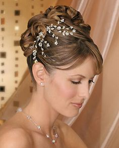 Bel Aire Bridal Hair Accessories.