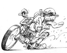 Will Pierce #illustration #design #motorcycles #motos | caferacerpasion.com