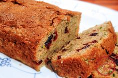 cranberry orange zucchini bread