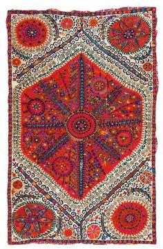 "Suzani; Rugrabbit Austria Auction ""Fine Antique Oriental Rugs V"""
